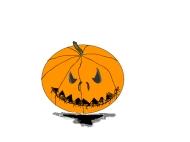 Pumpkin scary